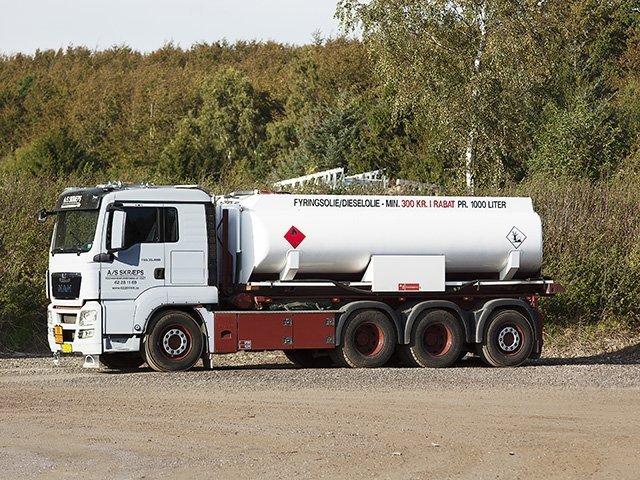 Tankvogn (Fyringsolie & dieselolie)